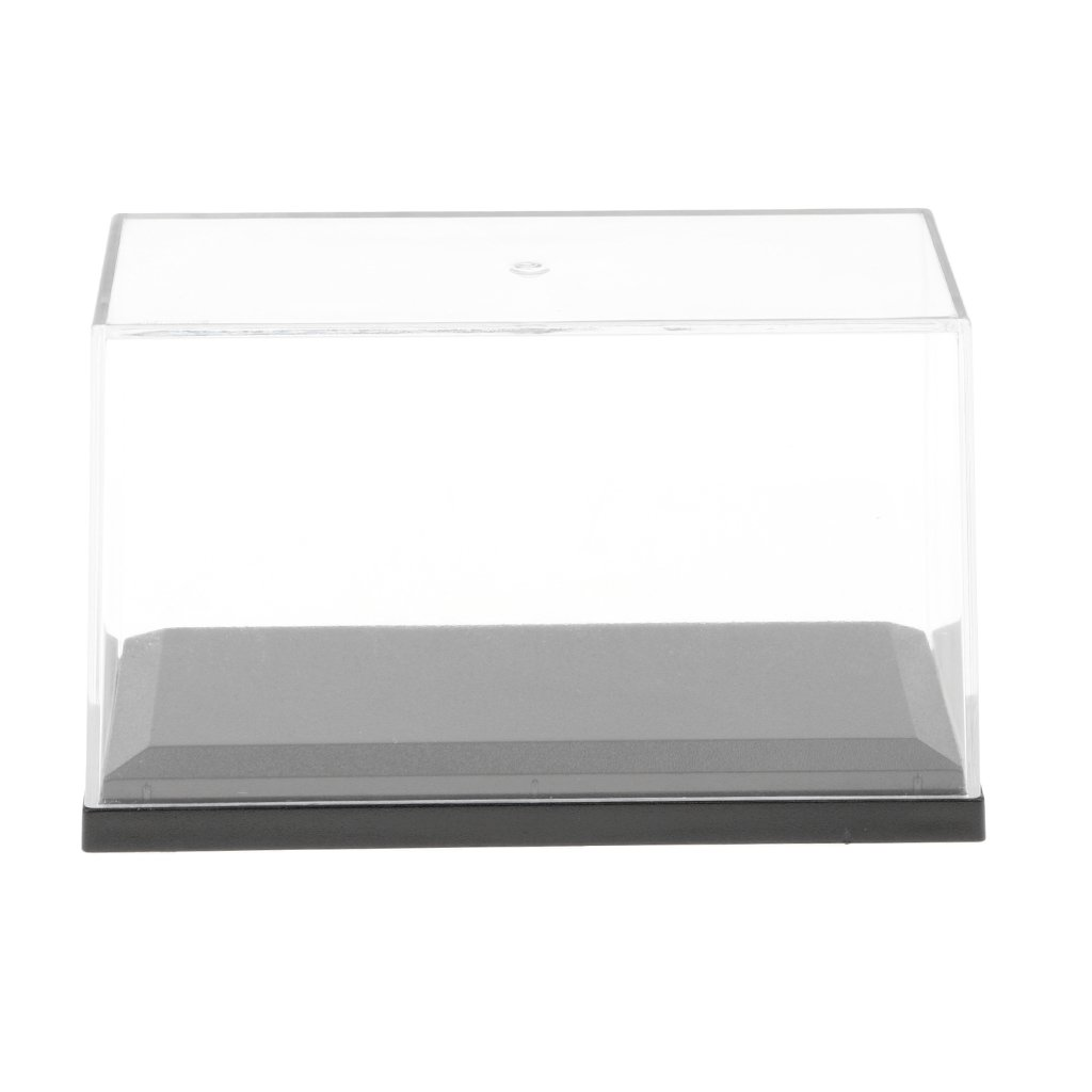 MagiDeal 10 x 5 x 6 cm Model Display Case Anti-Dust Protection Display Box for Model Figures non-brand
