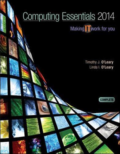 Computing Essentials 2014 Complete Edition