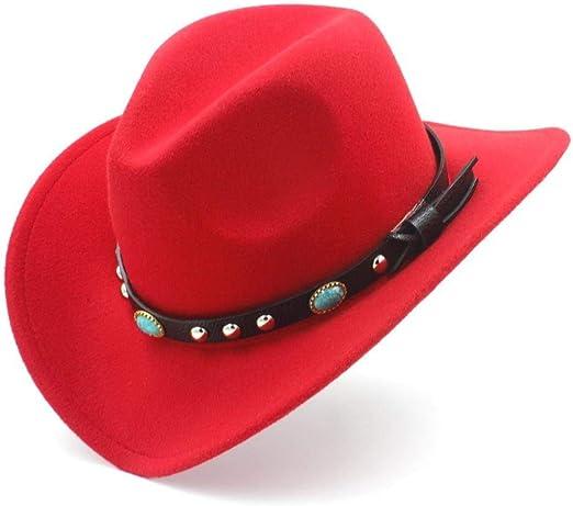 Deawecall Sombreros y Gorras Moda Mujer Hombre Western Cowboy Hat ...
