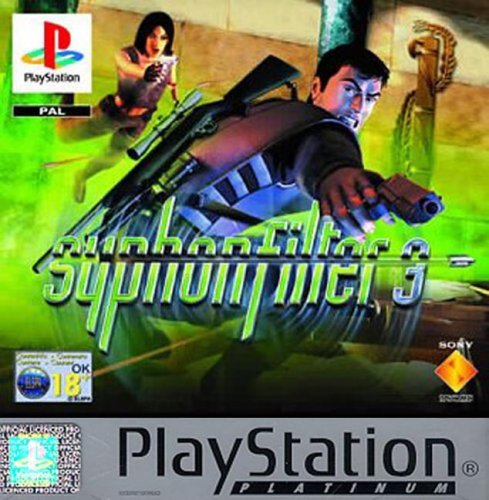 PS1 PAL Syphon Filter 3 (UK) Platinum English Version