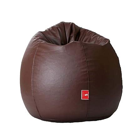 Biggie Bags Bean Bag XL Size Brown Empty