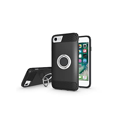 premium selection 8b01c d73bb Amazon.com: Ring Holder Kickstand Function Case For IPhone 8/iPhone ...