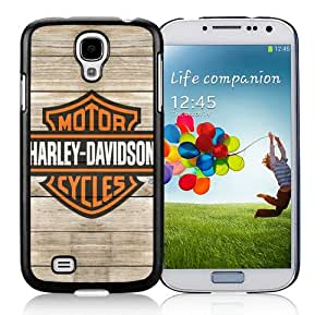 Personalized Custom Picture Samsung Galaxy S4,harley davidson logo 5 Black Samsung Galaxy S4 Custom Picture Phone Case