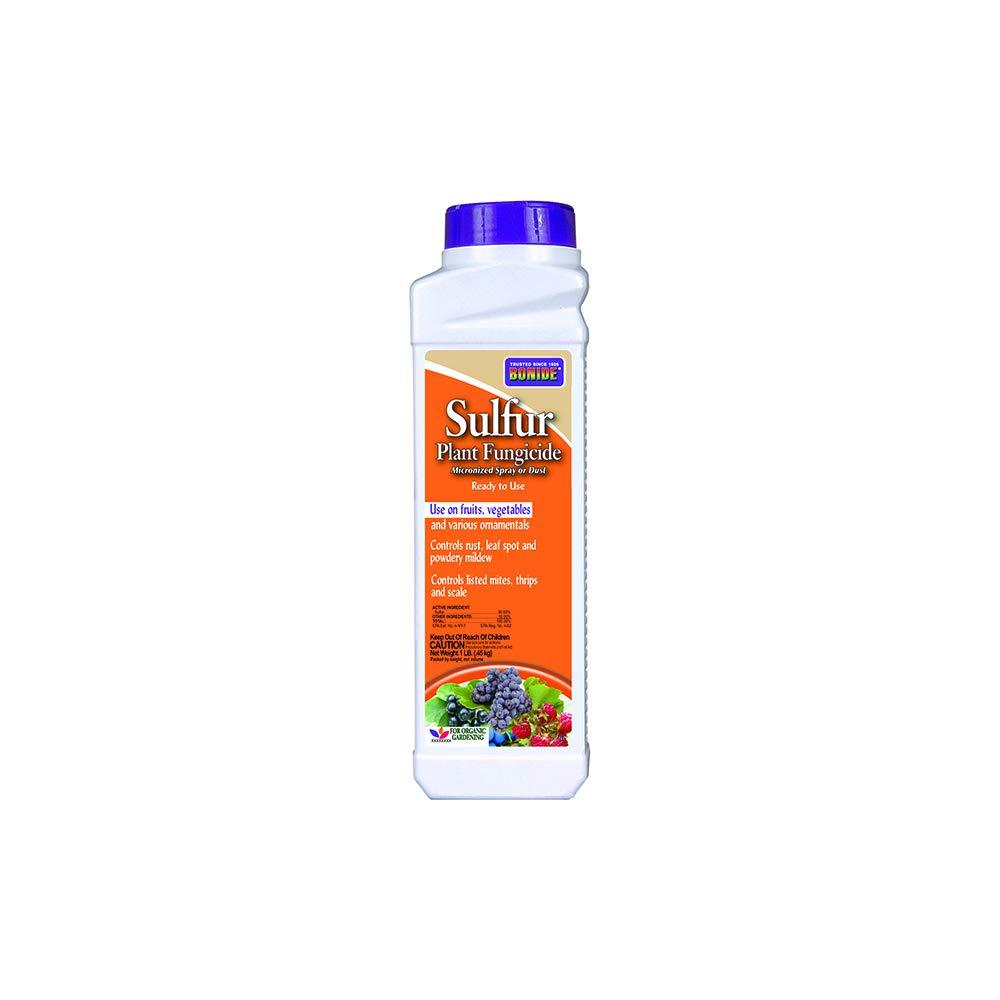 Bonide (BND141) - Sulfur Plant Fungicide, Organically Controls Rust, Leaf Spot and Powdery Mildew (1 lb.)