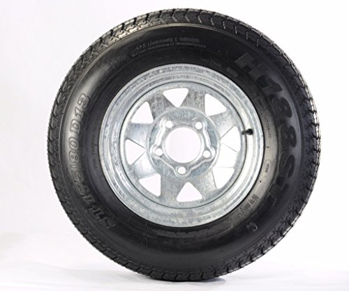 Kenda 175/80D13 Trailer Tire with 13″ Galvanized Spoke Rim