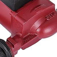 Husuper Bomba de Circulaci/ón 100 W Circulador Dom/éstico Bomba de Circulaci/ón para Calefacci/ón Circuladora Bomba Recirculadora Bomba de Refuerzo Bomba de Presi/ón de Agua LPS25-6
