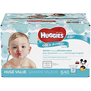 Amazon Com Huggies Simply Clean Fragrance Free Baby Wipes