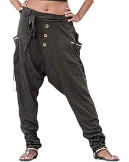 Macondoo Mens Casual Sport Jogger Slim Printed Elastic Waist Camouflage Pants