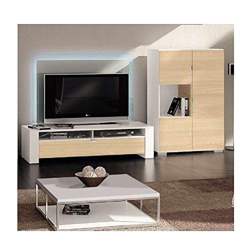 Röhr Bush Variate Wohnzimmer Wohnwand Beleuchtung Fernsehschrank