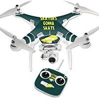 Skin For DJI Phantom 3 Standard – Skaters Gonna Skate   MightySkins Protective, Durable, and Unique Vinyl Decal wrap cover   Easy To Apply, Remove, and Change Styles   Made in the USA