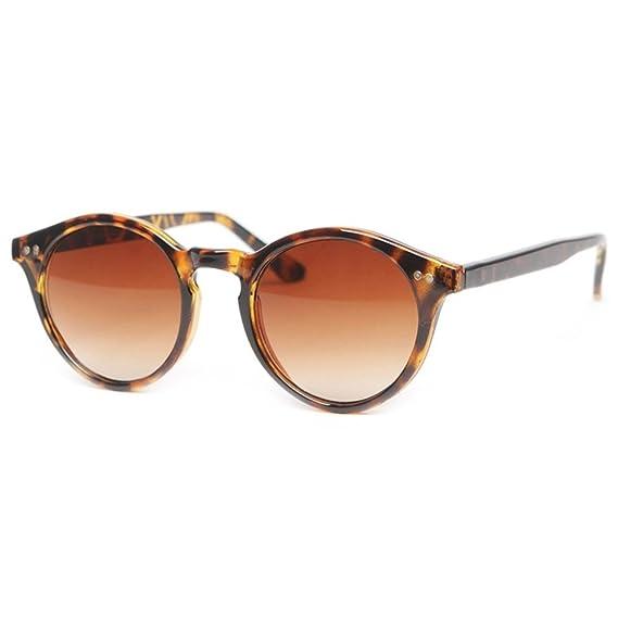 KISS Gafas de sol estilo MOSCOT mod. WAVE Johnny Depp - Cult VINTAGE Luz hombre mujer RONDA unisex