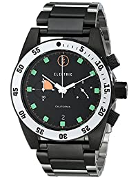 Electric Men's EW0070010020 DW02 Stainless Steel Band Analog Display Japanese Quartz Silver Watch