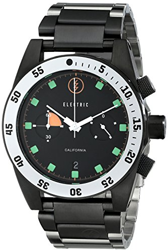 Electric Men's EW0070010020 DW02 Stainless Steel Band Analog Display Japanese Quartz Silver Watch ()