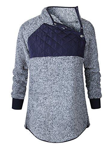 BETTE BOUTIK Women's Woolen Sweater Turtleneck Sweater Tops Blouse Pullover Hoodies – DiZiSports Store