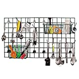 Focus EZ-Wall? Green Metal Kitchen Storage Grid/Drying Rack