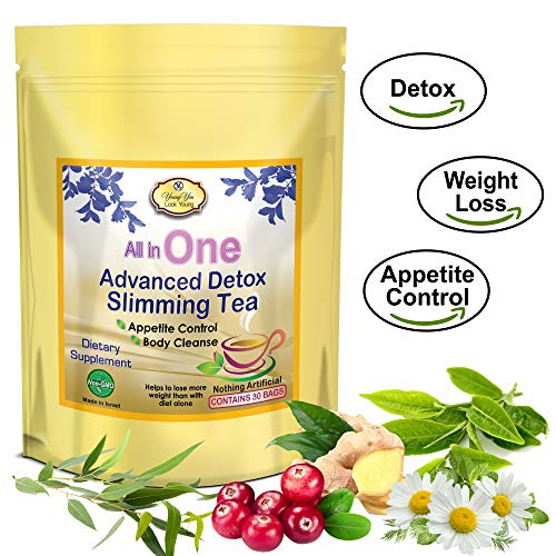 All In One Detox Tea For Weight Loss Appetite Suppressant Energy