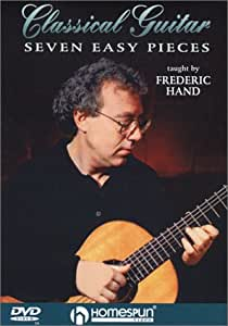 DVD-Classical Guitar -Seven Easy Pieces