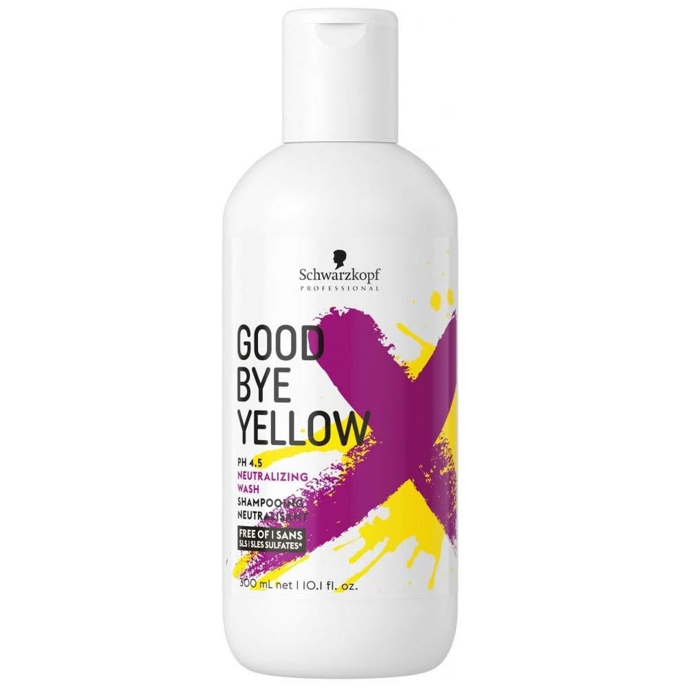 Goodbye Yellow by Schwarzkopf Shampoo 300ml, 10.0 Ounce (4045787515992)