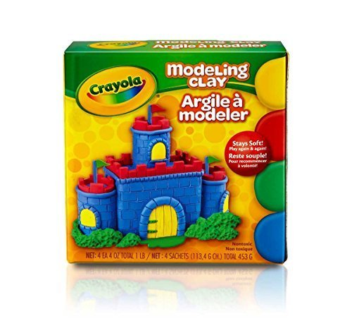 Crayola Modeling Clay 16 oz ( Pack of - Magic Clay Model Classpack