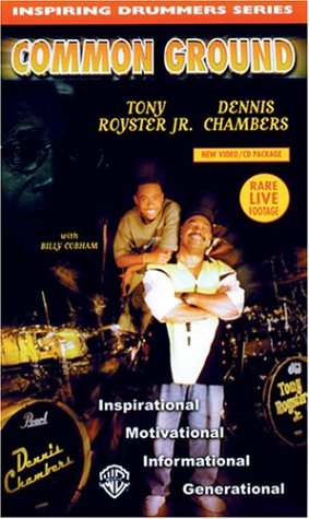Inspiring Drummers Series: Common Ground [VHS] (Inspiring Drummers Series)