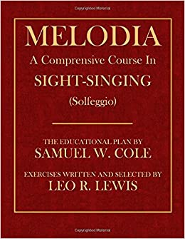 Book Melodia: A Comprehensive Course in Sight-Singing (Solfeggio)