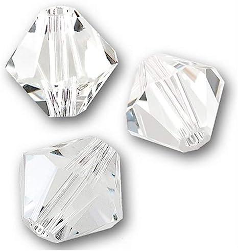 30 Swarovski ® cristal perlas bicone 4mm Medium Emerald Art 5301