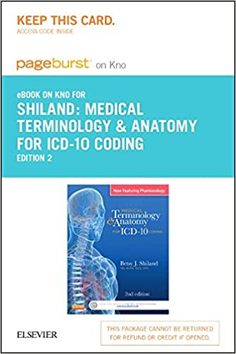 Medical Terminology Anatomy For Icd 10 Coding Elsevier Ebook On