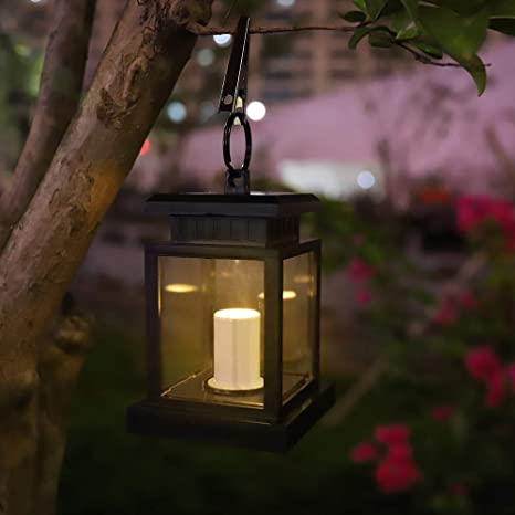 LED Oudoor Solar Laterne Licht Garten Lampe hängenden flameless Garten Innenhof.