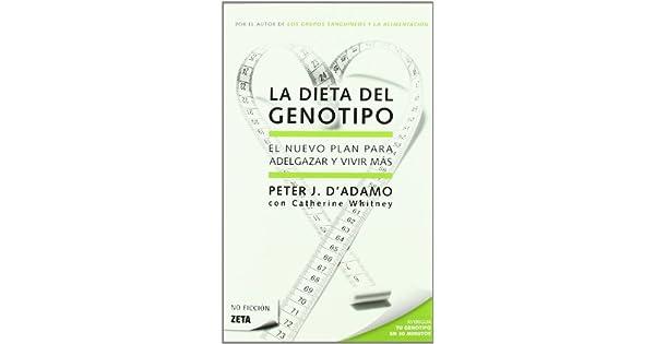 dieta del genotipo cazador