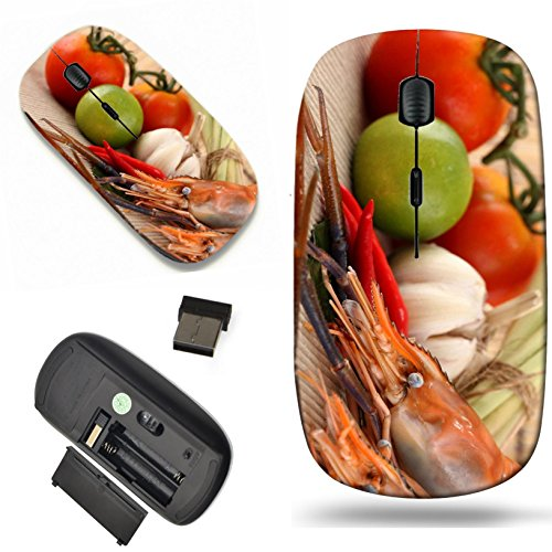 - Luxlady Wireless Mouse Travel 2.4G Wireless Mice with USB Receiver, 1000 DPI for notebook, pc, laptop, macdesign IMAGE ID: 22782563 Asian herb and spicy with shrimps Tom Yum