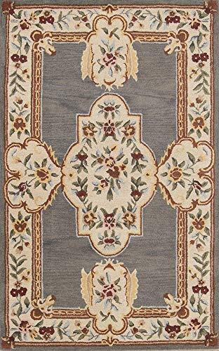 Rug Source New Hand Made Aubusson Classical Traditional Oriental Area Rug 5x8 (8' 2