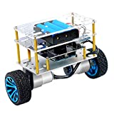 Yahboom Balance Robot Car Compatible with Arduino Electronics Programmable Kit Education Robotics for Kids and Adult Support C Language (UNO R3 Include)