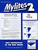 (50) Gerber Graded Comic Size Mylites 2 Comic Book Mylar Sleeves-LEGAL