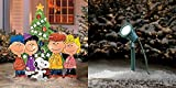 SNOOPY AND THE GANG AROUND CHRISTMAS TREE YARD DECOR - 33''W x 36''H - LED SPOTLIGHT INCLUDED