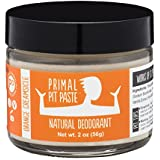 PRIMAL PIT PASTE All Natural Orange Creamsicle Deodorant | 2 Ounce Jar | NO Aluminum, NO Parabens | For Women and Men of All Ages | Non-GMO, Cruelty Free, Earth Friendly, BPA Free