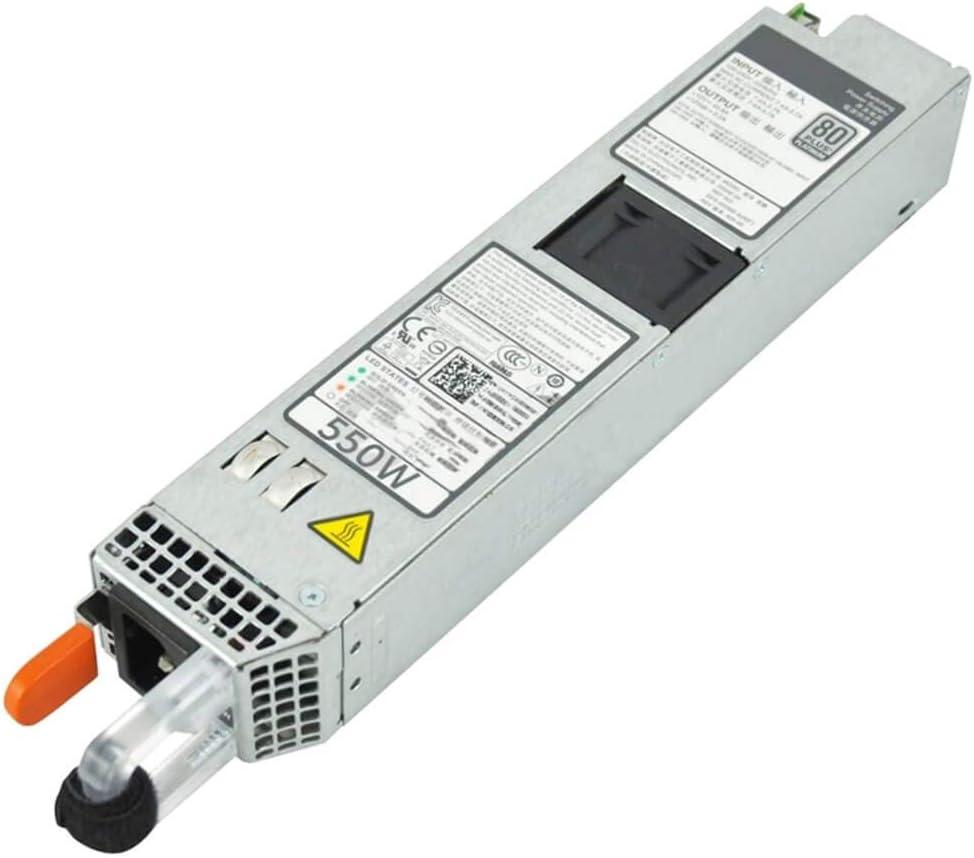 Dell 550W Redundant Power Supply for PowerEdge R320 R420 Server PN: 1J45G RYMG6 M95X4 (Renewed)