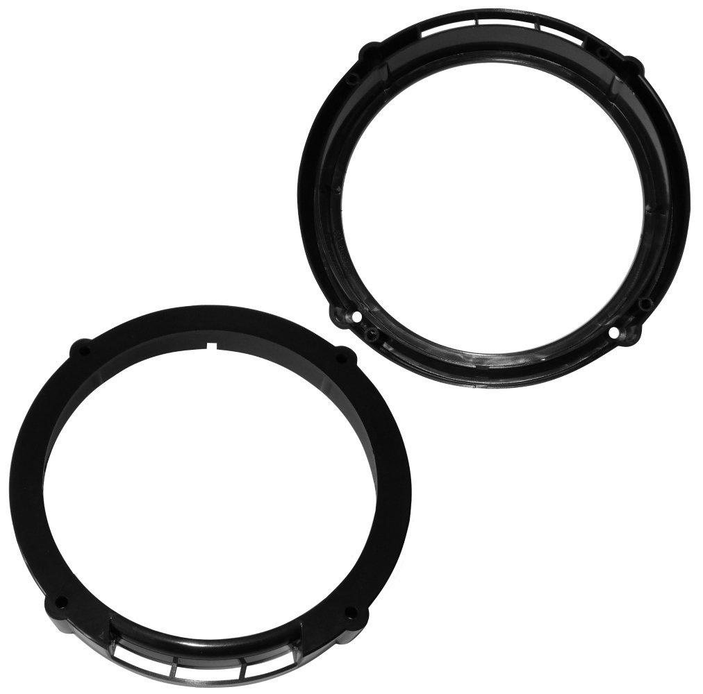 AERZETIX: 2x Adaptadores soportes de altavoces 165mm para puerta ...
