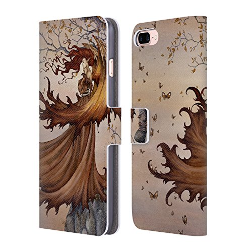 assage to Autumn Fairies Leather Book Wallet Case Cover for iPhone 7 Plus/iPhone 8 Plus ()