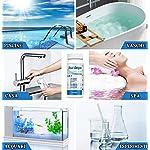 Set-6-in-1-Test-a-Strisce-per-Acqua-Piscina-Pool-Test-PH-Test-dellAcqua-50-Strisce-reattive-per-Piscina-Acqua-Potabile-PHCloroalcalinita-e-durezza-dellAcqua-per-Spa-Terme-e-Piscine