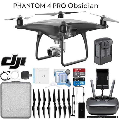 DJI Phantom 4 Pro Obsidian - Ready To Fly Bundle