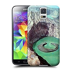 Unique Phone Case Landscape Taal Volcano Luzon Philippines Hard Cover for samsung galaxy s5 cases-buythecase