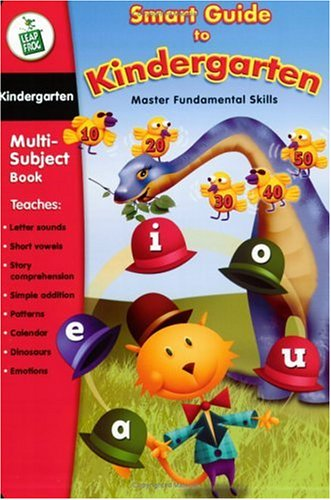 - LeapFrog LeapPad Educational Book: Smart Guide to Kindergarten