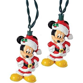 Amazon Com Kurt Adler Battery Operated 6 Light Mickey