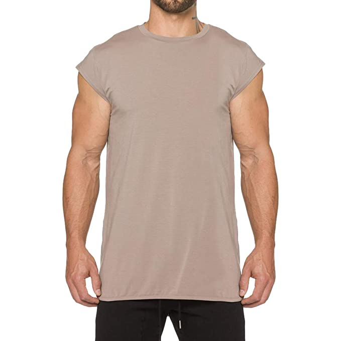 Men/'s Fitness Letter printing Bodybuilding T-Shirt Cotton Sleeve Cloth