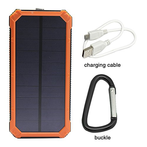 Solar Charger, Solar External Battery Pack, ® Portable