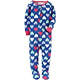 Kyпить Carter's Girls' 12M-5T Multi Heart Print One Piece Cotton Pajamas 3T на Amazon.com