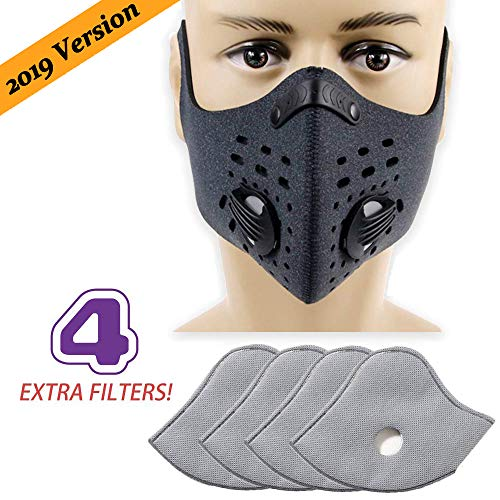Cycorld Activated Carbon Dustproof Dust Mask (Gray)