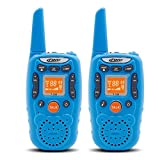 Image of Kids Walkie Talkies Long Range Two Way Radio 3KM 22 Channels Battery Operated Handset with Indicator and Belt Clip for Children Outdoor Camping Hiking 2 PCS