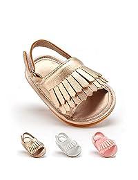 Baby Boys Girls Anti-Slip First Walkers Summer Toddler Sandals