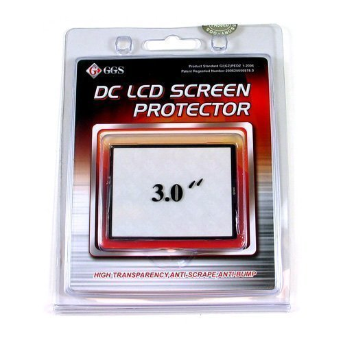 GGS Optical Glass LCD Screen Protector 3 inches for Digital Cameras